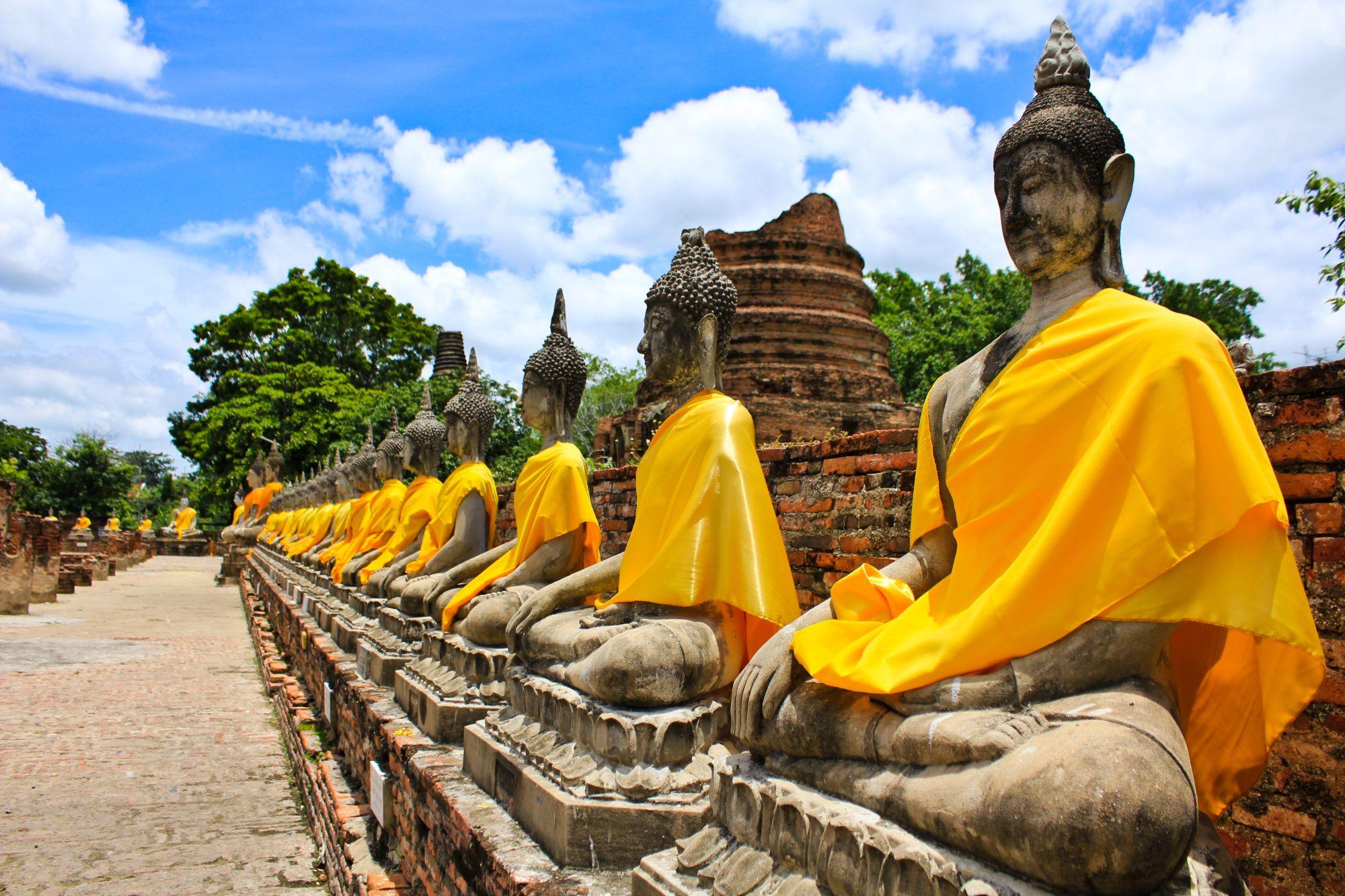 Ayutthaya - Thailand - Boedha
