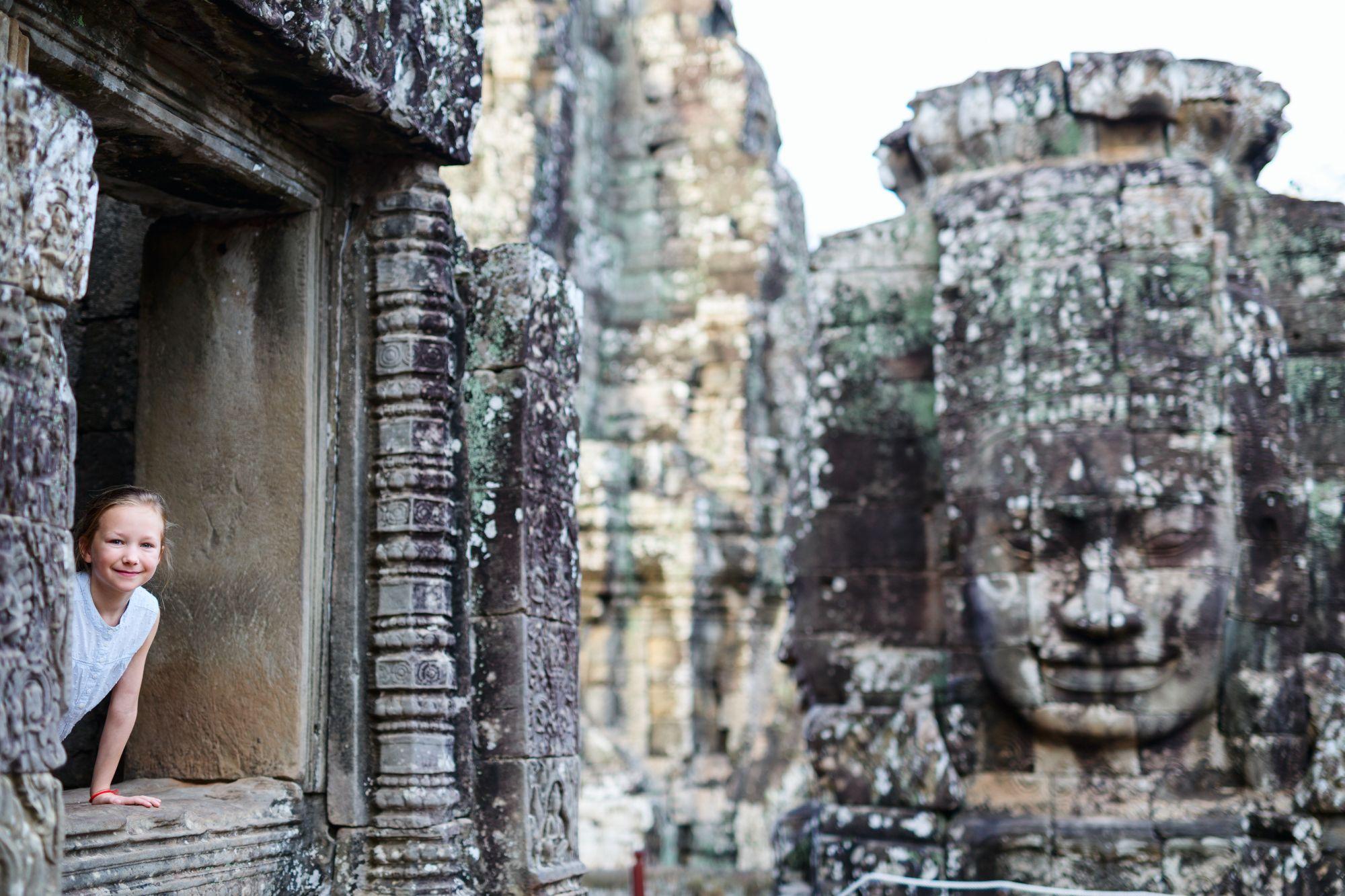 Cambodja Angkor Bayon tempel