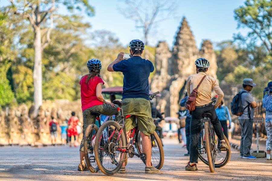 Cambodja Angkor Fietstour
