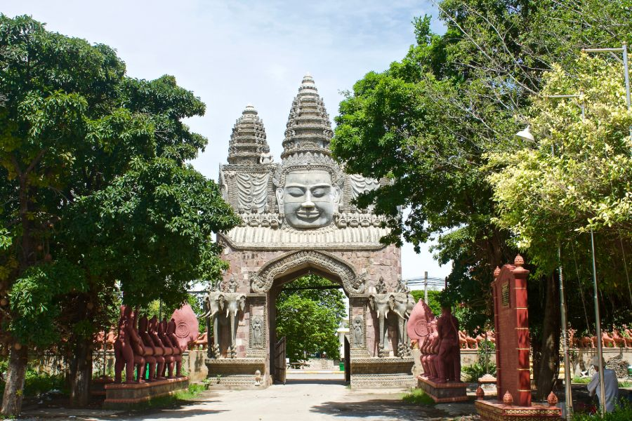 Cambodja Battambang omgeving