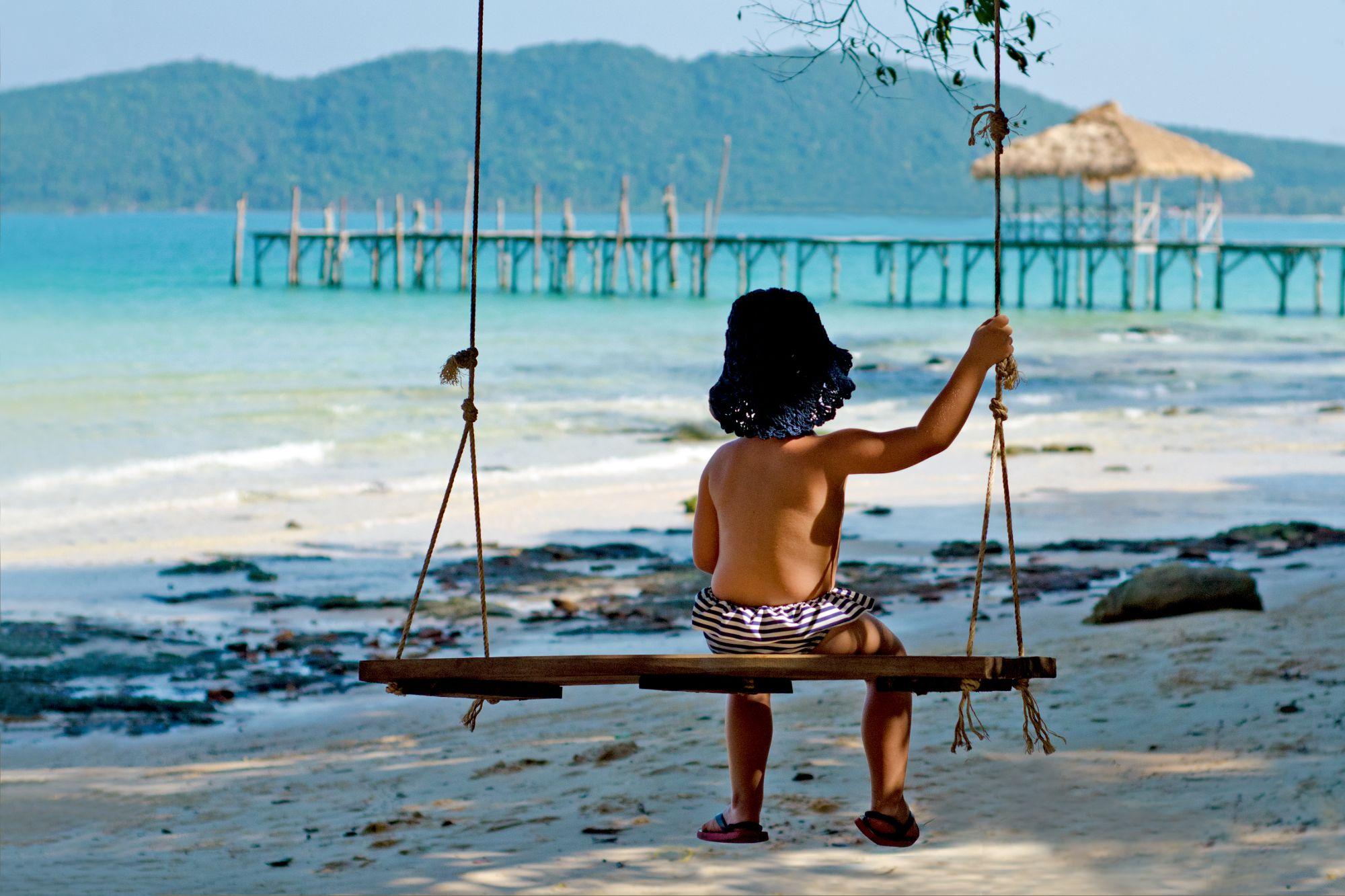 Cambodja Koh Rong Samloem Schommel