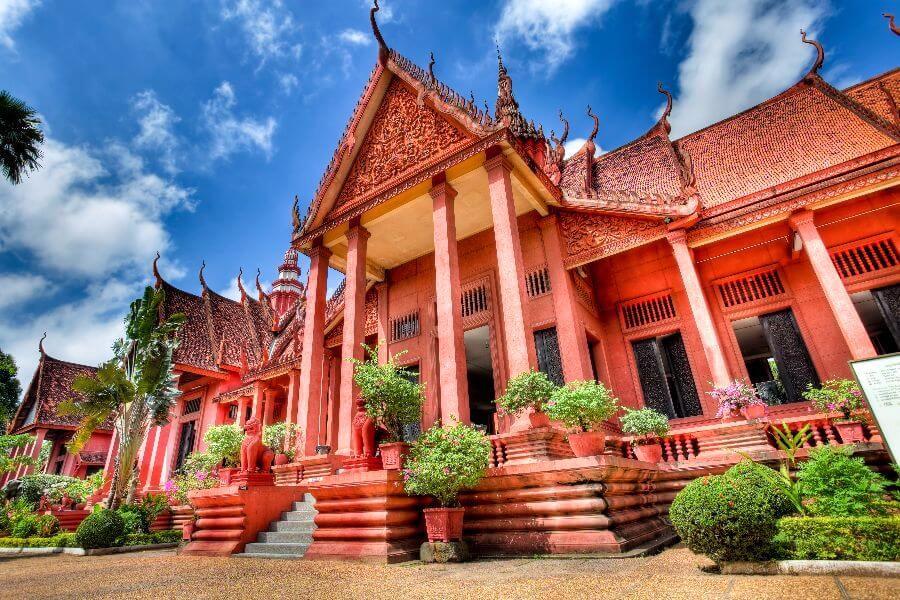 Cambodja Nationaal museum Algemene informatie Phnom Penh