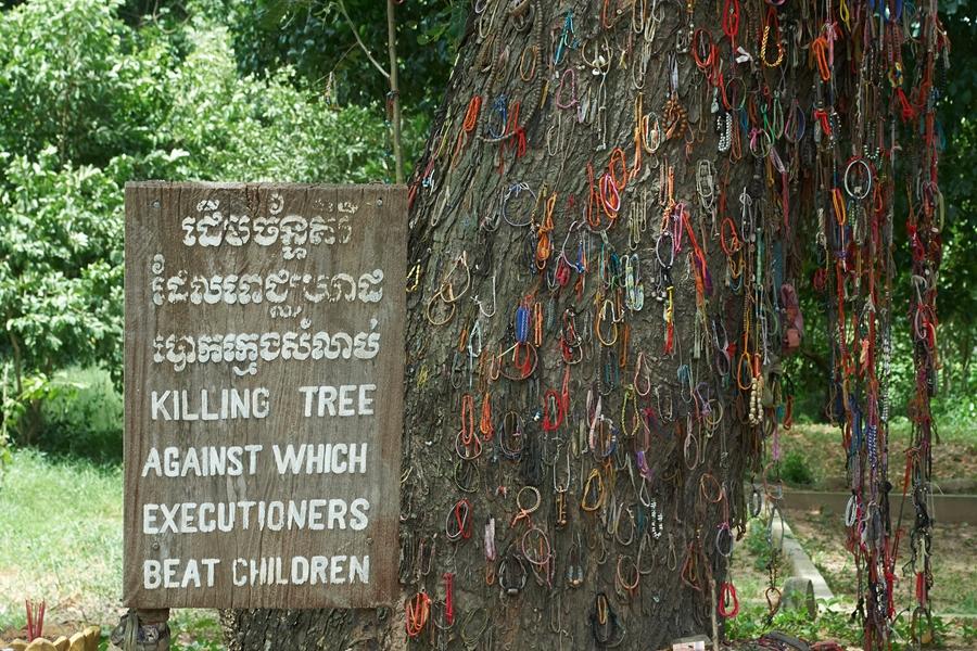 Cambodja Phnom Penh Killing Fields boom