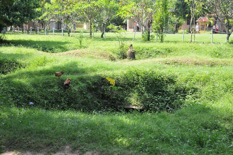 Cambodja Phnom Penh Killing Fields veld