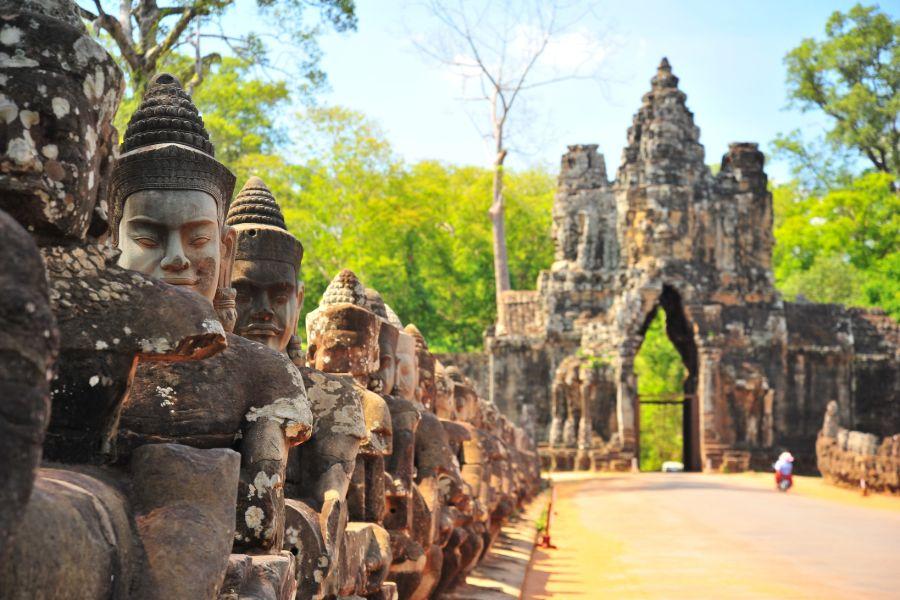 Cambodja Siem Reap Angkor Thom tempel