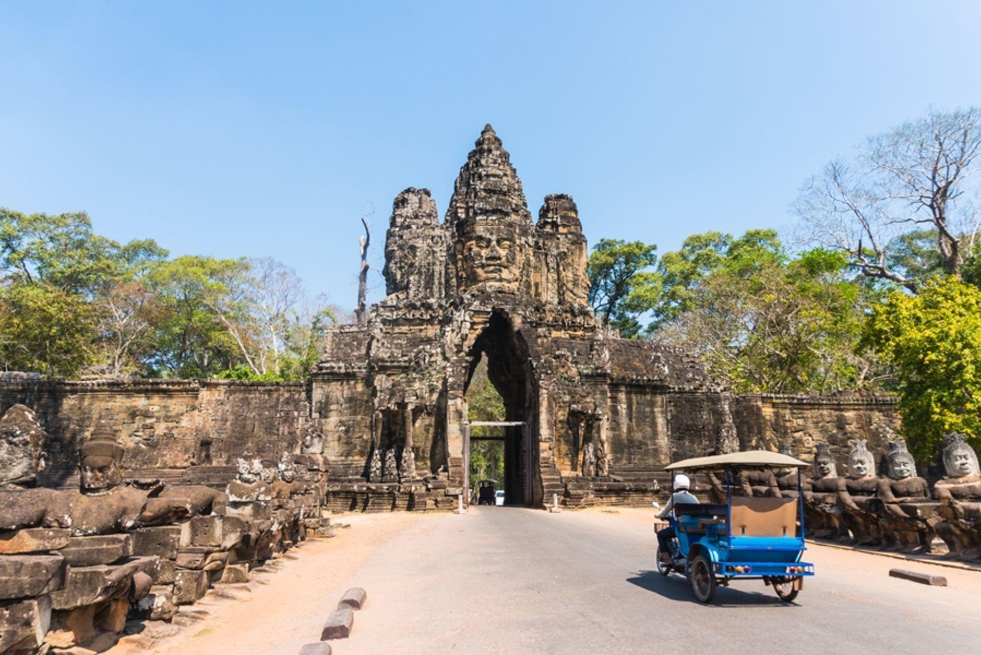 Cambodja Siem Reap Angkor Wat tuktuk 2