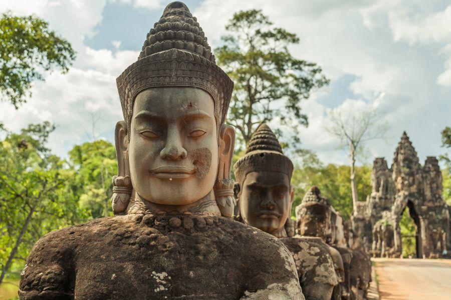 Cambodja Siem Reap Angkor wat tempel