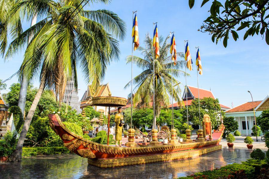 Cambodja Siem Reap Prumrot Vat tempel
