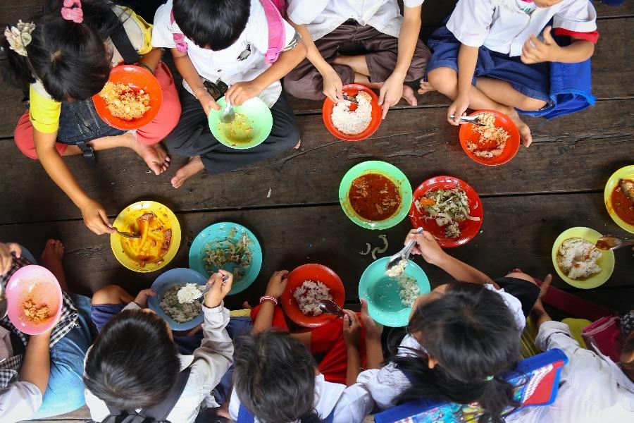 Cambodja lunch