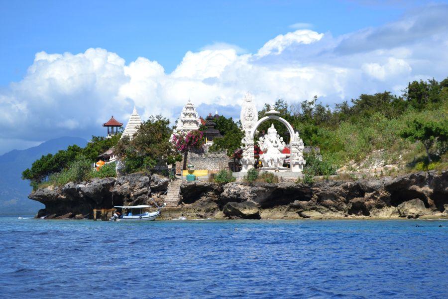 Indonesie Bali West Bali National Park Ganesh Temple Menjangan Island Pacific Ocean