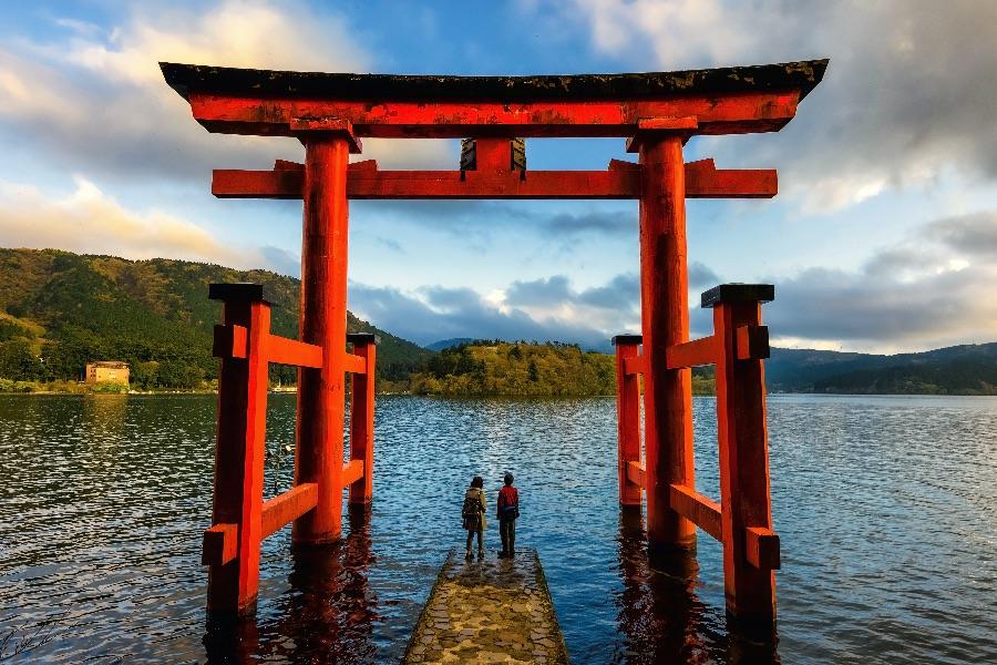 Japan Hakone Poort van Hakone