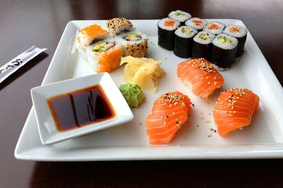 Japan Sushi eten