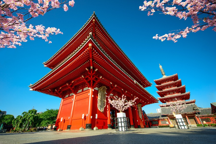 Japan Tokio Asakusa Kannon Tempel
