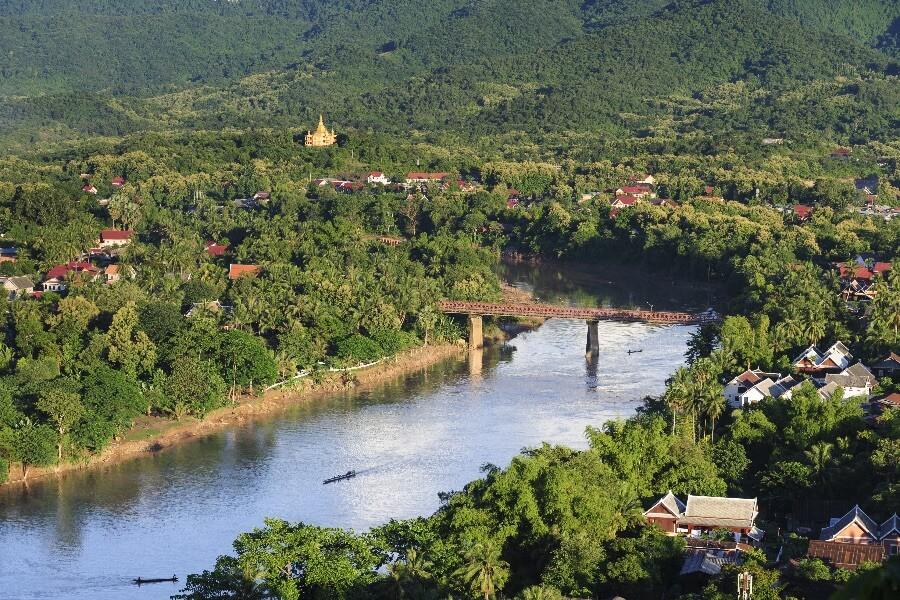 Laos Luang Prabang dagtrekking Thin Pha Trail