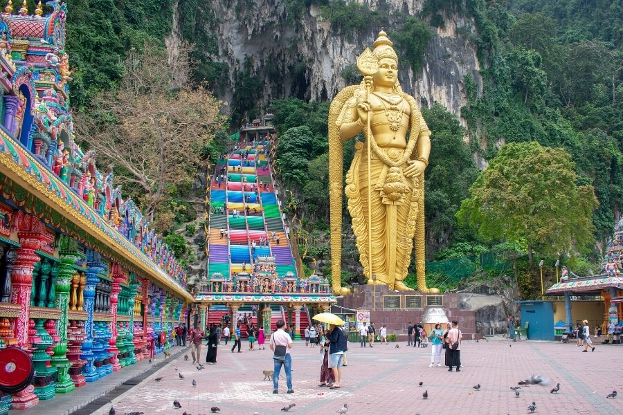 Maleisie Kuala Lumpur gouden boeddha Wat Traimit