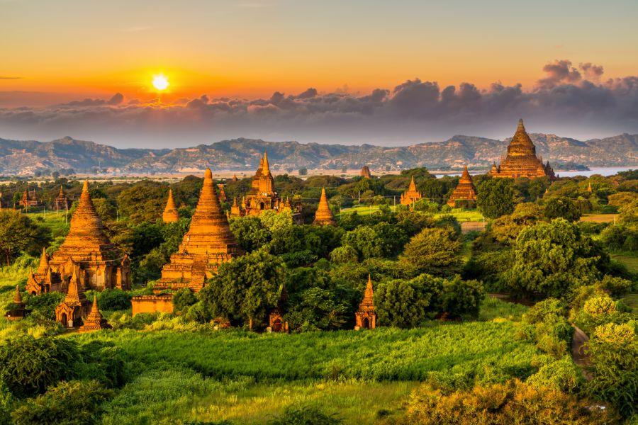 Myanmar Bagan Tempels 1