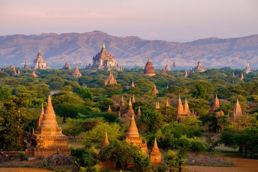 Myanmar Bagan tempels
