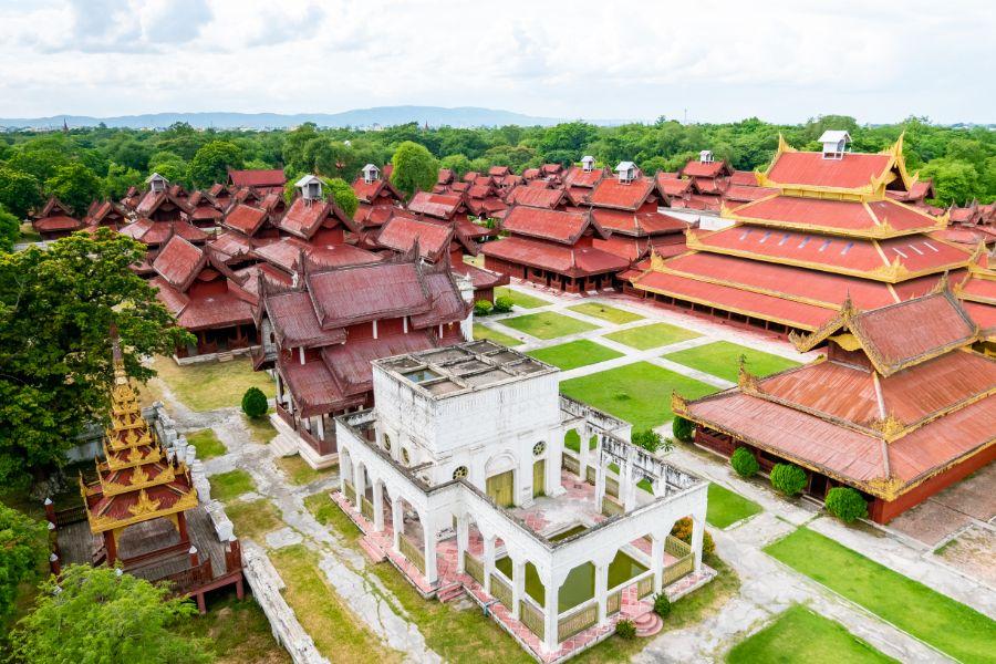 Dag 4: Bangkok - Mandalay