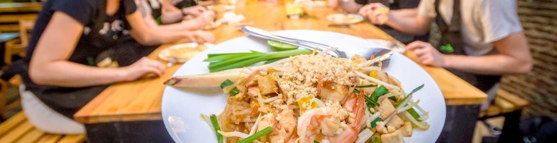 Thailand Pad Thai eten