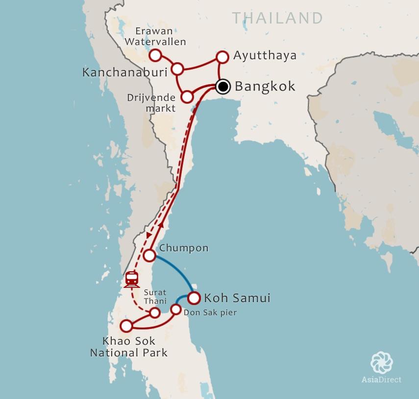 16-Daagse rondreis Waanzinnig Thailand