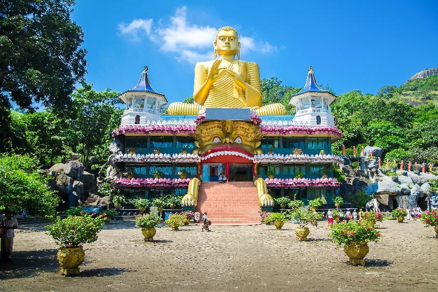 Sri Lanka Dambulla tempel