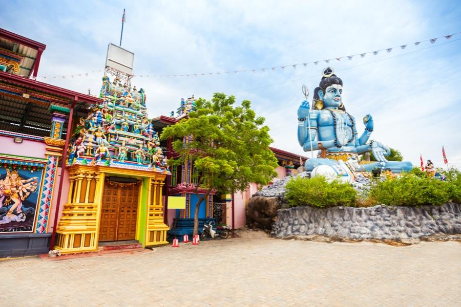 Sri Lanka Trincomalee Koneswaram Temple