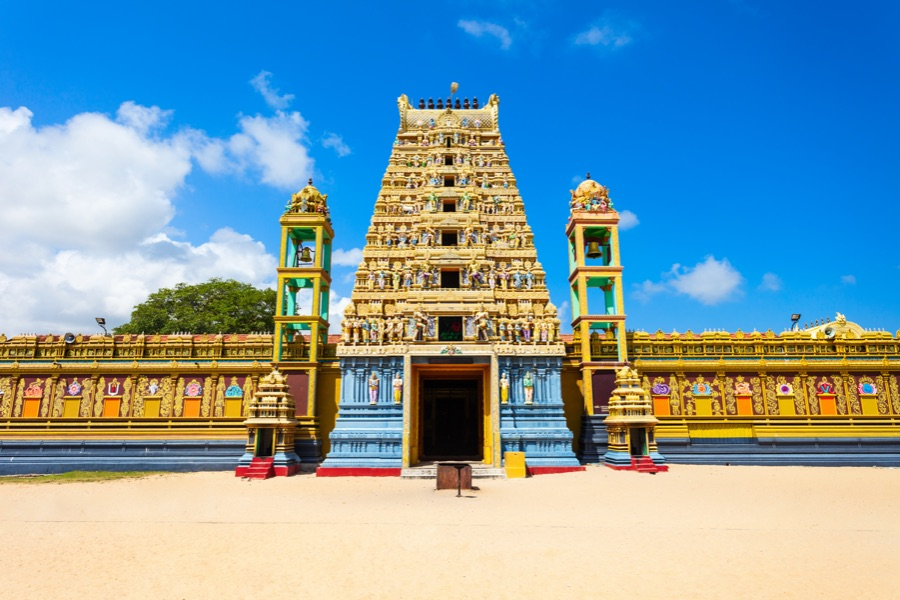 Sri lanka Jaffna tempel