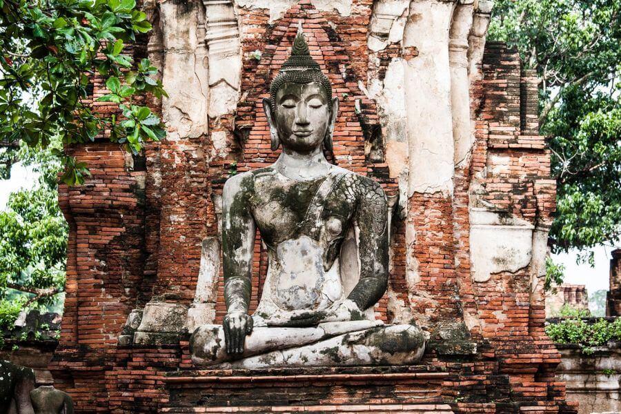 Thailand Ayutthaya Boeddha 1