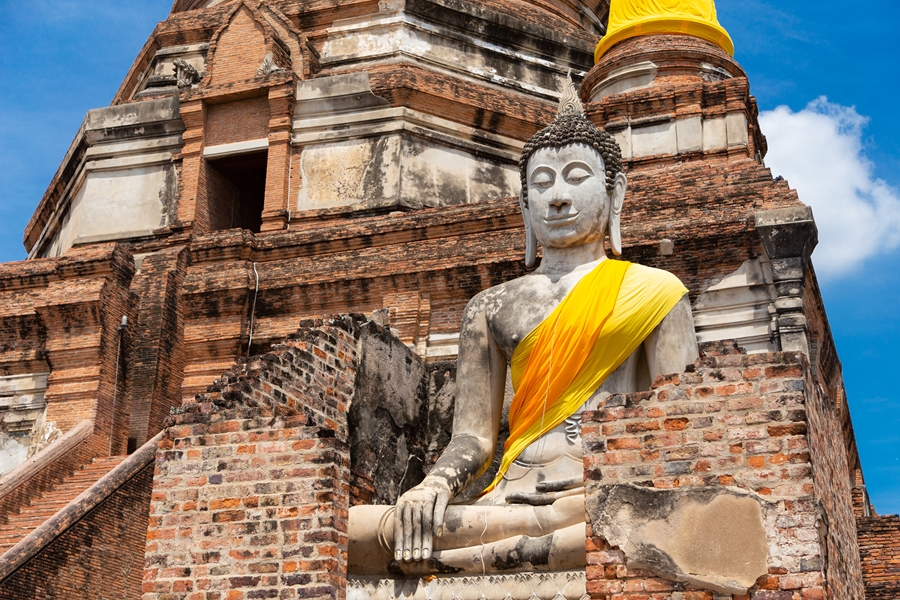 Thailand Ayutthaya Boeddha
