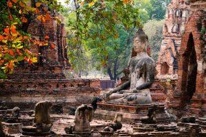 Fietstour Ayutthaya's Schatten