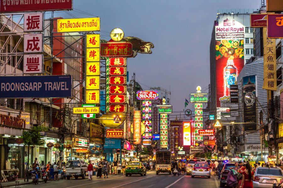 Dag 1: Vertrek naar Bangkok