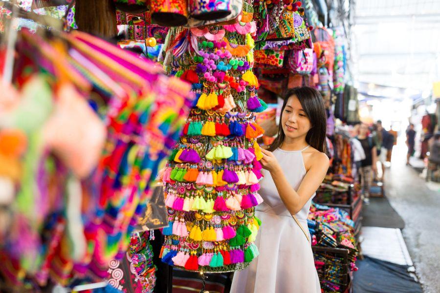Thailand Bangkok Souvenir Shop