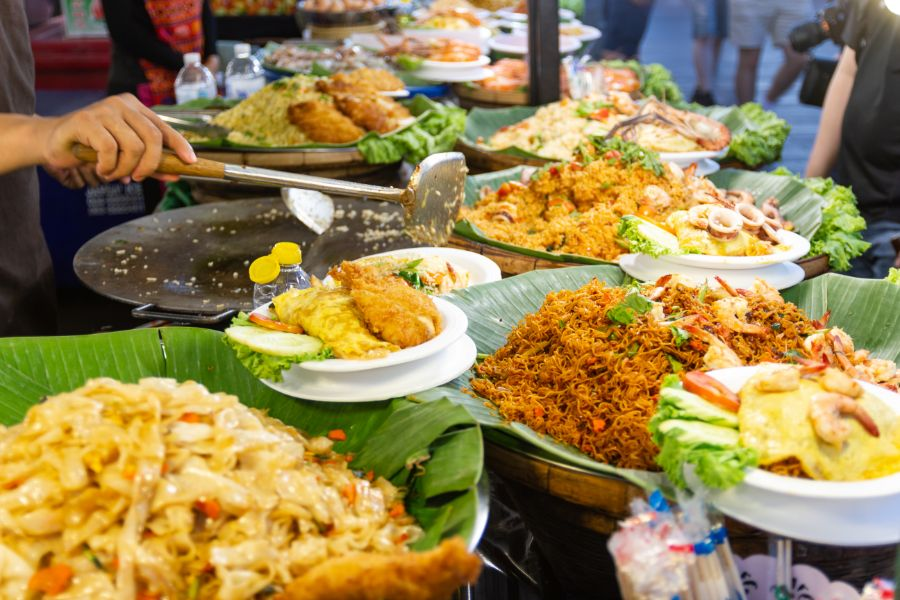 Thailand Bangkok Thais Eten