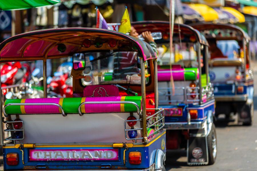 Dag 2: Aankomst in Bangkok