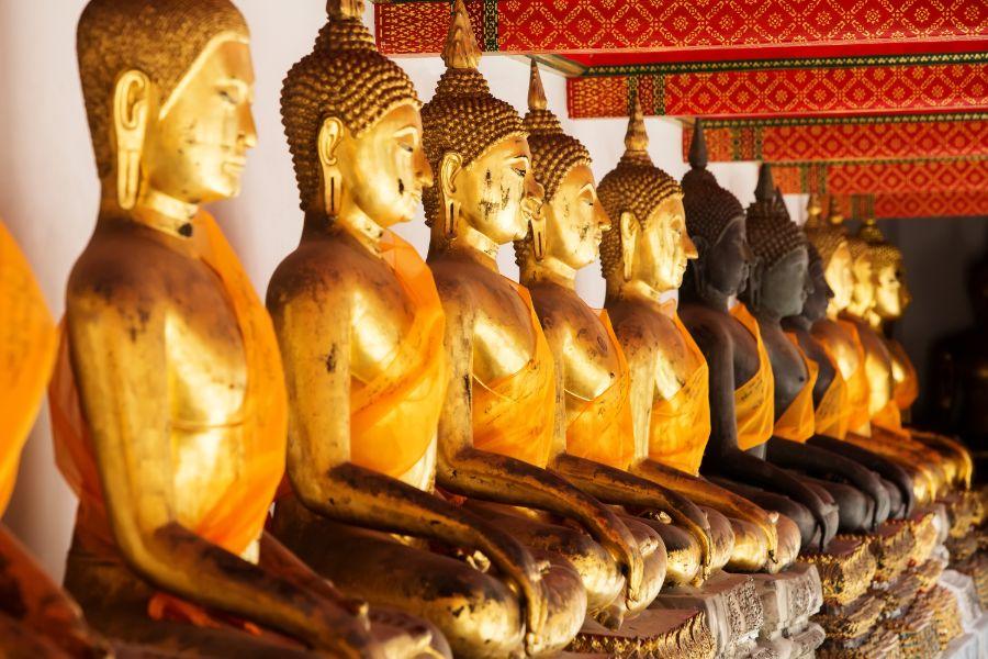 Thailand Bangkok Wat Pho Buddhist temple