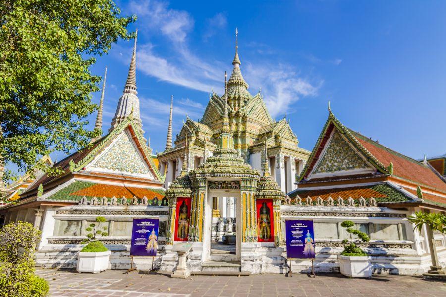 Thailand Bangkok Wat Pho tempel