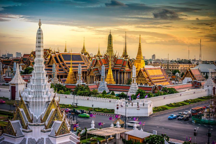 Thailand Bangkok koninkelijke paleis