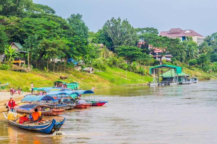 Thailand Chiang Khong Rivier