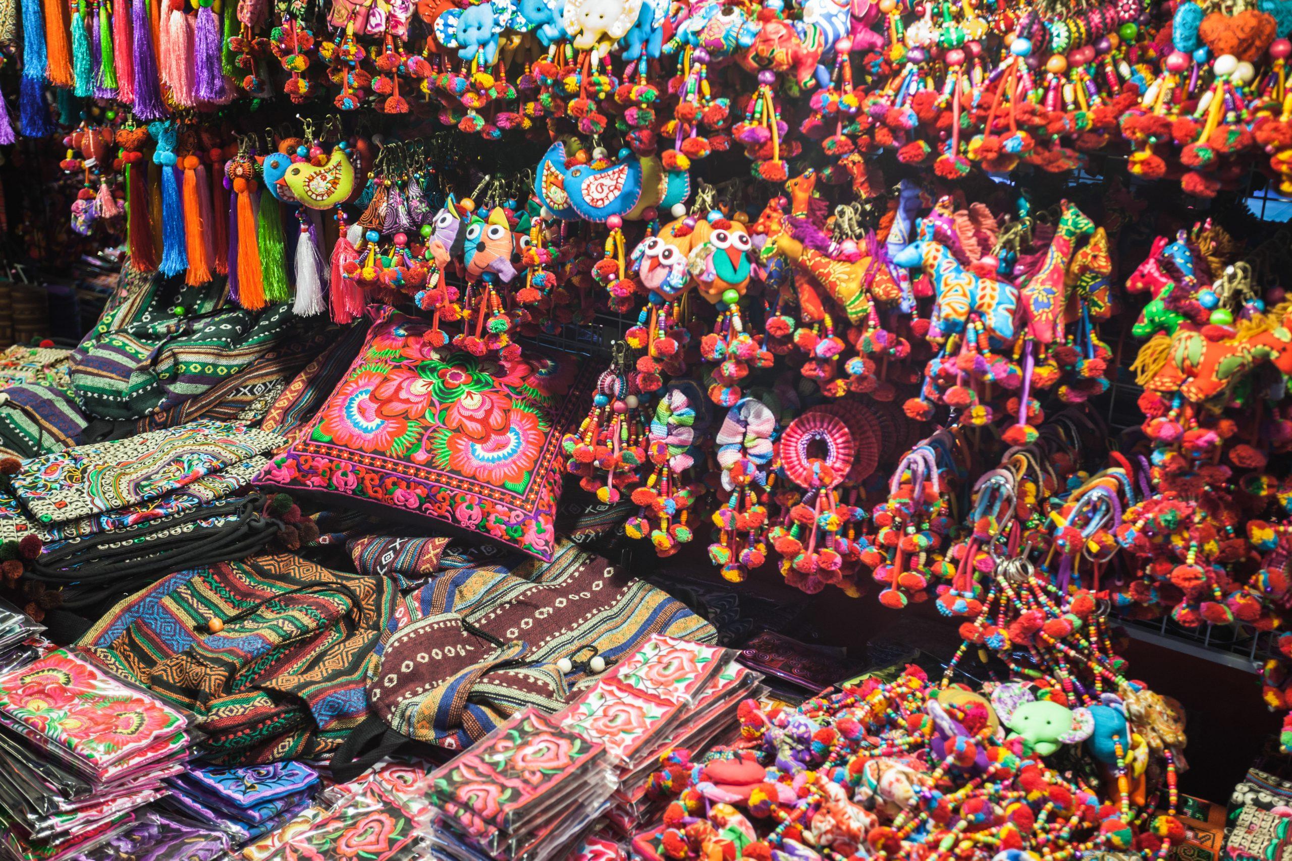 Thailand Chiang Mai Bazaar