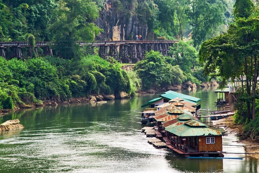 Thailand Chiang Mai River Kwai