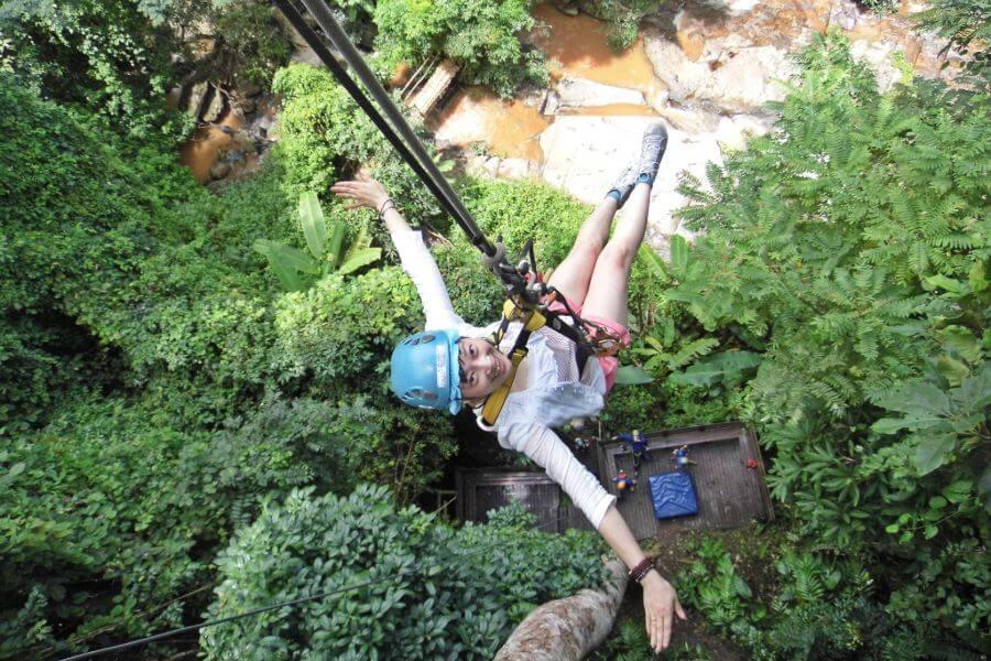 Thailand Chiang Mai Zipline