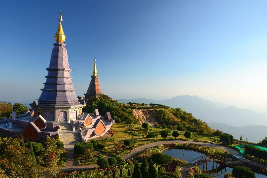Thailand Chiang Mai nationaal park Doi Inthanon 5 Daagse Highlights of the North Tour