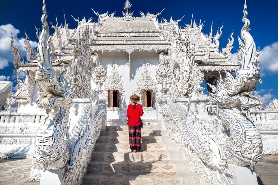 Thailand Chiang Rai Wat Rong Khun The White Temple