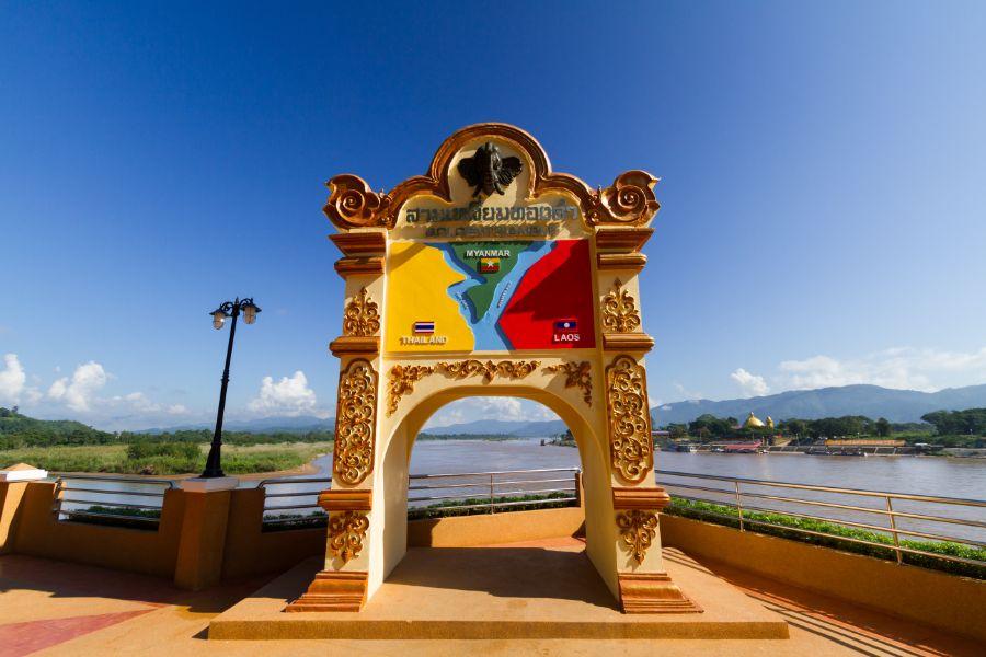 Thailand Chiang Saen drielandenpunt