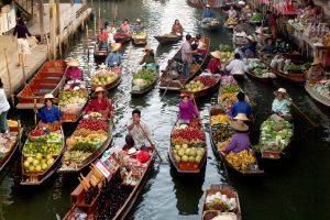 Boek de reis 'Drijvende markt en Wat Bang Kung tempel'