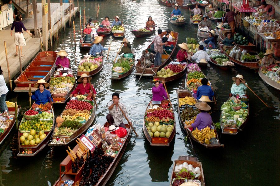 Dag 4: Bangkok – Kanchanaburi