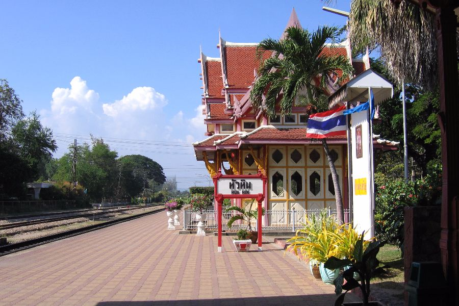 Thailand Hua Hin station