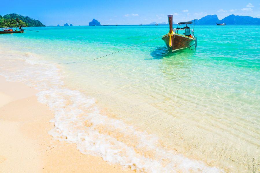 Thailand Koh Ngai Longtailboot