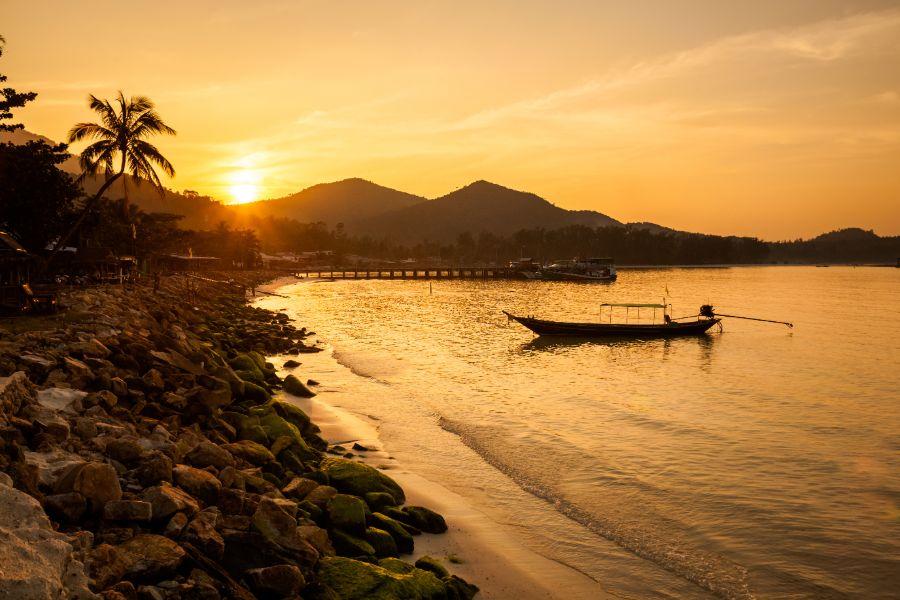 Thailand Koh Phangan Baai Chalokum