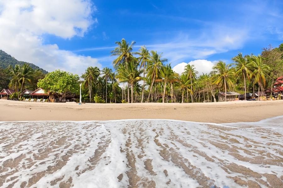 Thailand Koh Phangan Strand